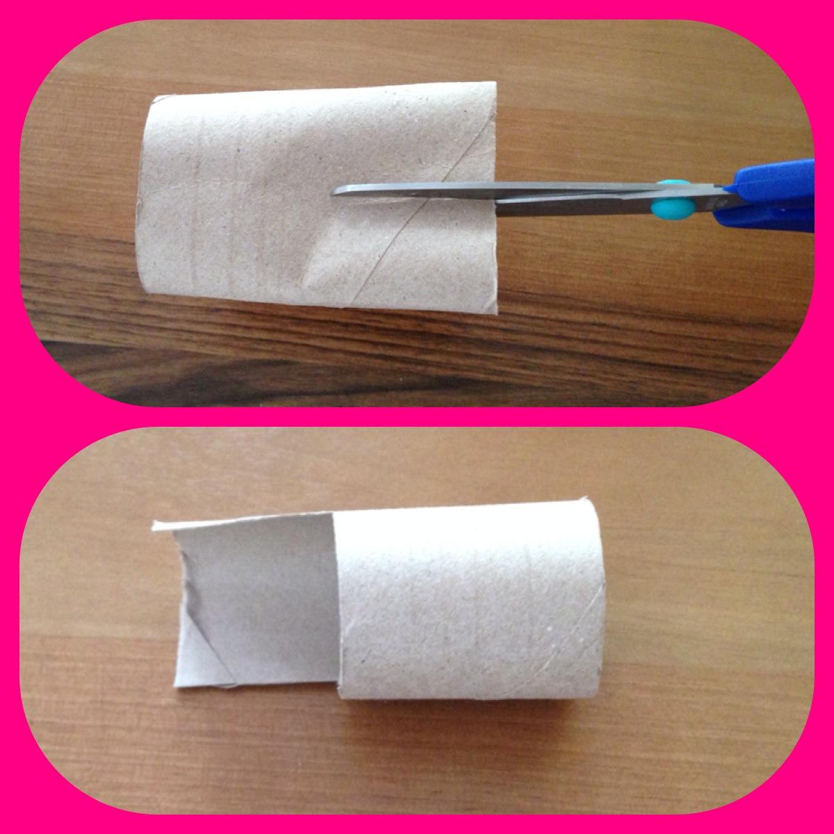 Tuvalet Kağıdı Rulosu ile Baskı Yapımı
